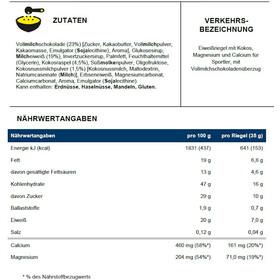 PowerBar ProteinPlus Calcium & Magnesium Box 30 x 35g Kokosnuss